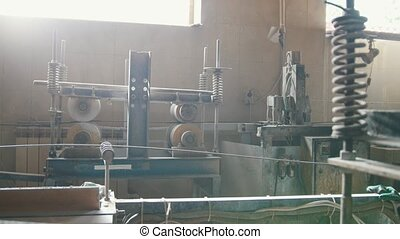 Manufacturing - composite reinforcement - rotated mechanism...