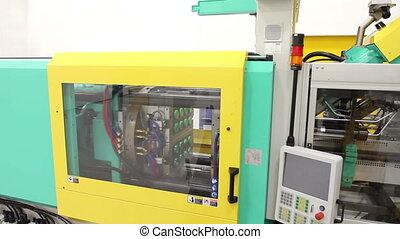 Manufacturing Crane Shot
