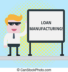 manufacturing., foto, oficina, proceso, texto, préstamo, ...