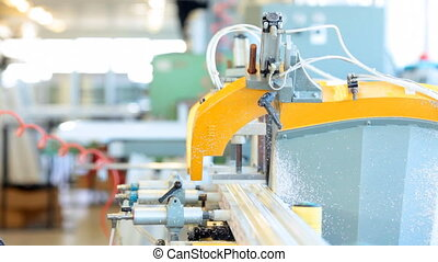 Manufacturing of doors and windows