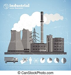 Manufacturing Plant Background