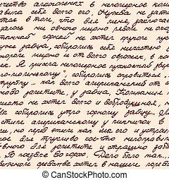 manuscrito, seamless, baseado, textura