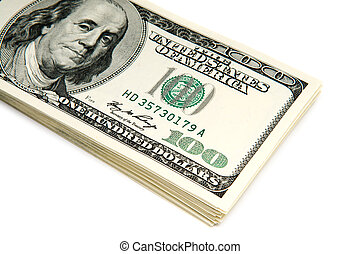 many american dollar bills - stack of american dollar bills