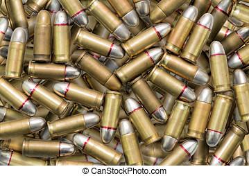 ammunition bullets - many ammunition bullets pattern...