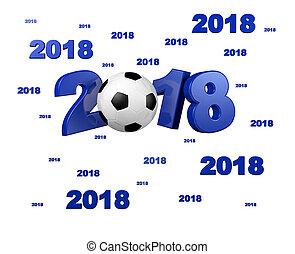 Many Blue Football 2018 Designs