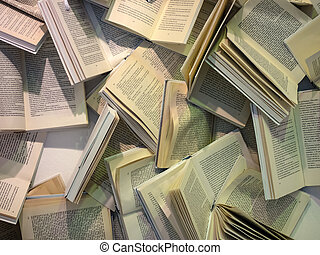many books in the chaos