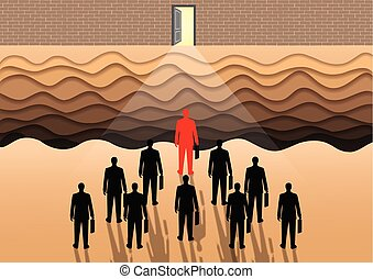Many businessmen are competing for the ultimate success of the organization. goal is to open the door to success. cliffs on the front. The obstacle to the success of the organization can be difficult.