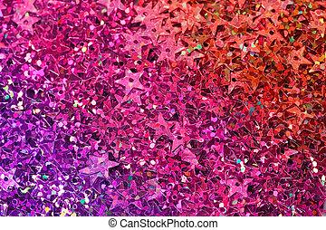 many celebration stars for background