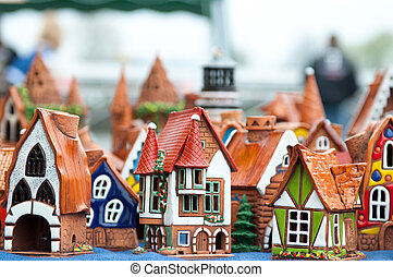 Souvenirs - Many ceramic toys for children. Souvenirs. ...