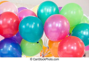 Many colored ballons - Many colored ballons