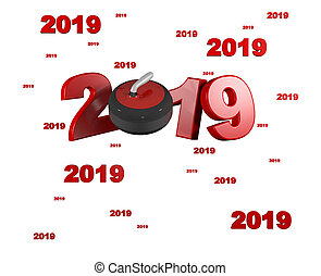 Many Curling 2019 Designs