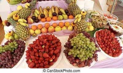Many Different Fruits
