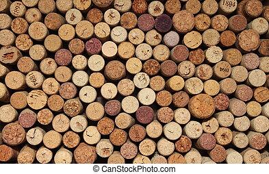 many different wine corks - different wine corks