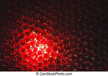 Many glass wine bottles of wine