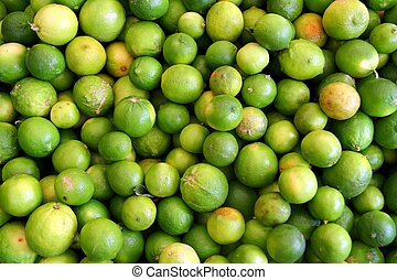 many Lemon citrus fruit pattern background