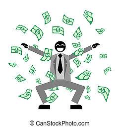 Many money - Design of many money puppet