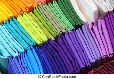 many multicolored canvas