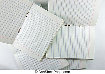 many notebook