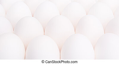 many of eggs as background