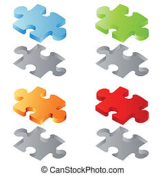 Many puzzles isolated