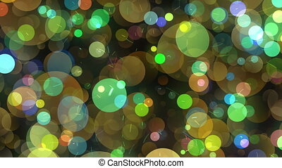 Many Round Shapes in Chaotic Arrangement - Many Round Shapes...