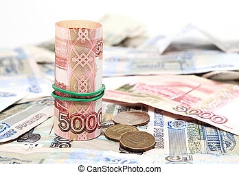 Many Russian money