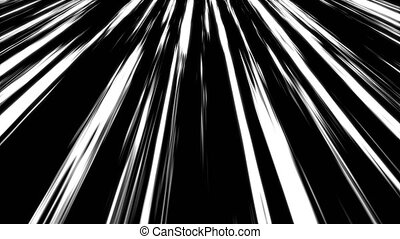 Many speed lines, computer generated abstract background, 3D...