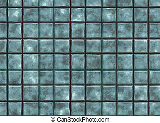 many square old tile. pattern texture