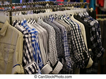 shirt in shop