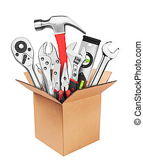 Many Tools in box