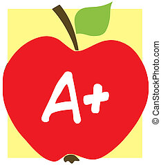 manzana, plano de fondo