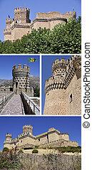 Manzanares el Real Castle, Segovia, Spain
