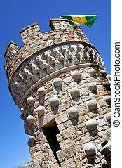 Manzanares el Real Castle (Vertical)