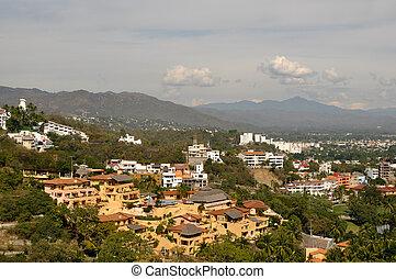 manzanillo, rendeltetési hely, természetjáró, mexikó