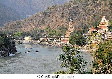 manzil, inde, shiva, tera, rishikesh, temple