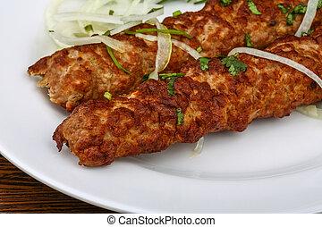 manzo, kebab