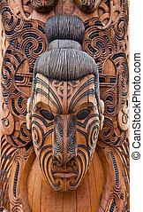 maori, 彫刻