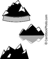 Maountains vector illustration