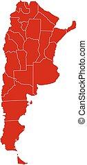 Map - Argentina