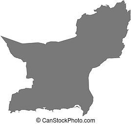 Map - Balochistan (Pakistan)