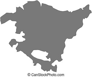 Map - Basque Country (Spain)