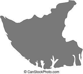Map - Bayelsa (Nigeria)