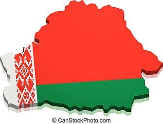 Map Belarus
