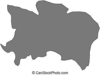 Map - Benue (Nigeria)