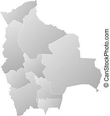 Map - Bolivia