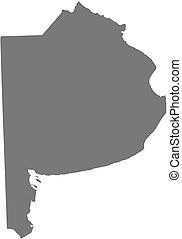 Map - Buenos Aires (Argentina) - Map of Buenos Aires, a ...