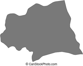 Map - Canelones (Uruguay)