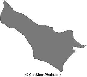 Map - Carchi (Ecuador)