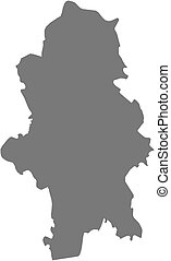 Map - Central Finland (Finland)