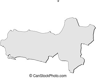 Map - Central Java (Indonesia)